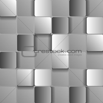 Abstract squares tech design