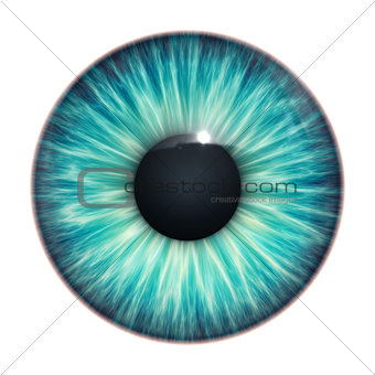turquoise eye texture