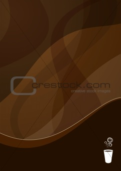 coffee wave background
