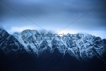 New Zealand Mountain Range