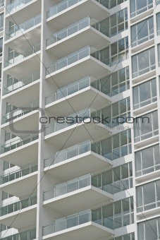 Clean and New Balconies