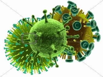 3d viruses