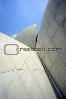 Abstract house of worship