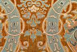 Medieval pattern brown