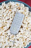 Popcorn and remote control