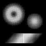 Retro Halftone Dots Vector
