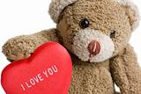 Valentine&#39;s Teddy Bear.