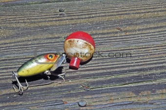 Fishing Lure and Bobber