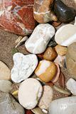 Colourful Beach Pebbles