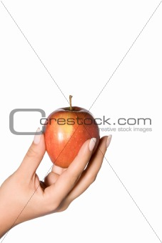 apple in your hand