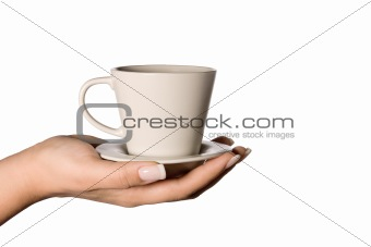 cup in your hand
