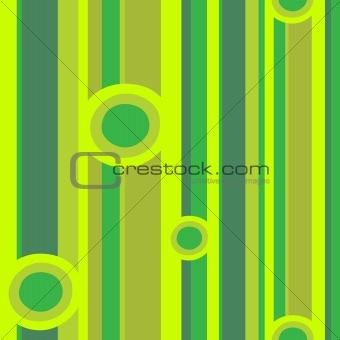 Green circles and stripes