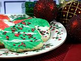 Christmas cookies in the kitchen