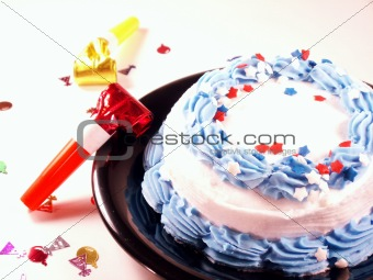 celebrate with cake!
