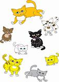 A collection of cats