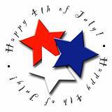 4th of July Stars