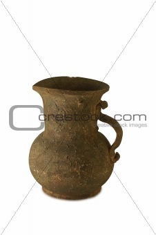 old jug isolated