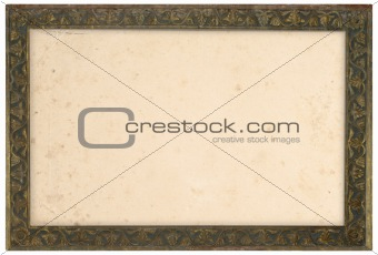Old Bronze Frame