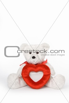 Bear with Heart Frame