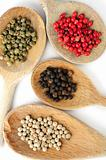 Assorted peppercorns