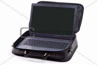 Cased Laptop