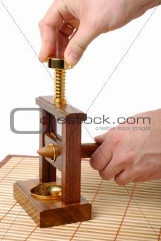 Cutting Of Cigar