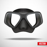 Underwater diving scuba mask.