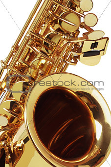 Close Up Of Saxophone