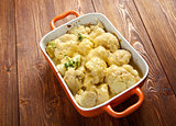 Vegetable Cauliflower gratin