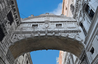 Bridge of Sighs - Ponte dei Sospiri. Venice, Italy, Europe.