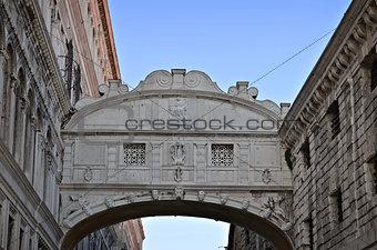 Bridge of Sighs - Ponte dei Sospiri. Venice, Italy, Europe.