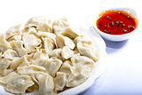 Chinese Food: boiled dumplings