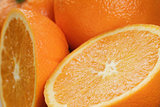ripe oranges background