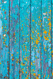 Blue painted wood background texture