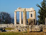 Ancient Temple of Zeus in the Nemea