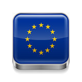 Metal  icon of EU