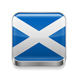 Metal  icon of Scotland
