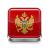 Metal  icon of  Montenegro