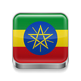 Metal  icon of Ethiopia