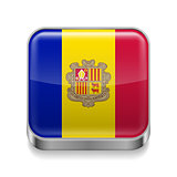Metal  icon of Andorra