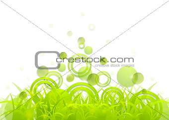 Abstract summer concept background