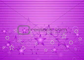 Bright purple concept design