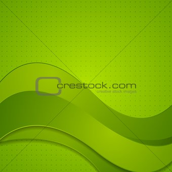 Bright wavy vector design