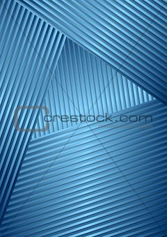 Abstract striped vector design