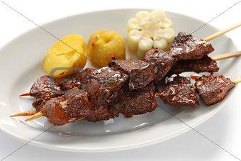 anticuchos, Peruvian cuisine