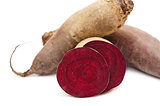 Beetroots and slice