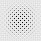 Seamless vector black and grey pattern or background with small polka dots.