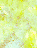 Yellow and Brown Abstract Art Painting