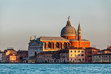 Redentore Sestiere Giudecca Church Facing Grand Canal in Venice,