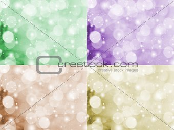 Abstraction background with a bubbles
